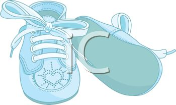 Baby booties clipart free 1 » Clipart Station.
