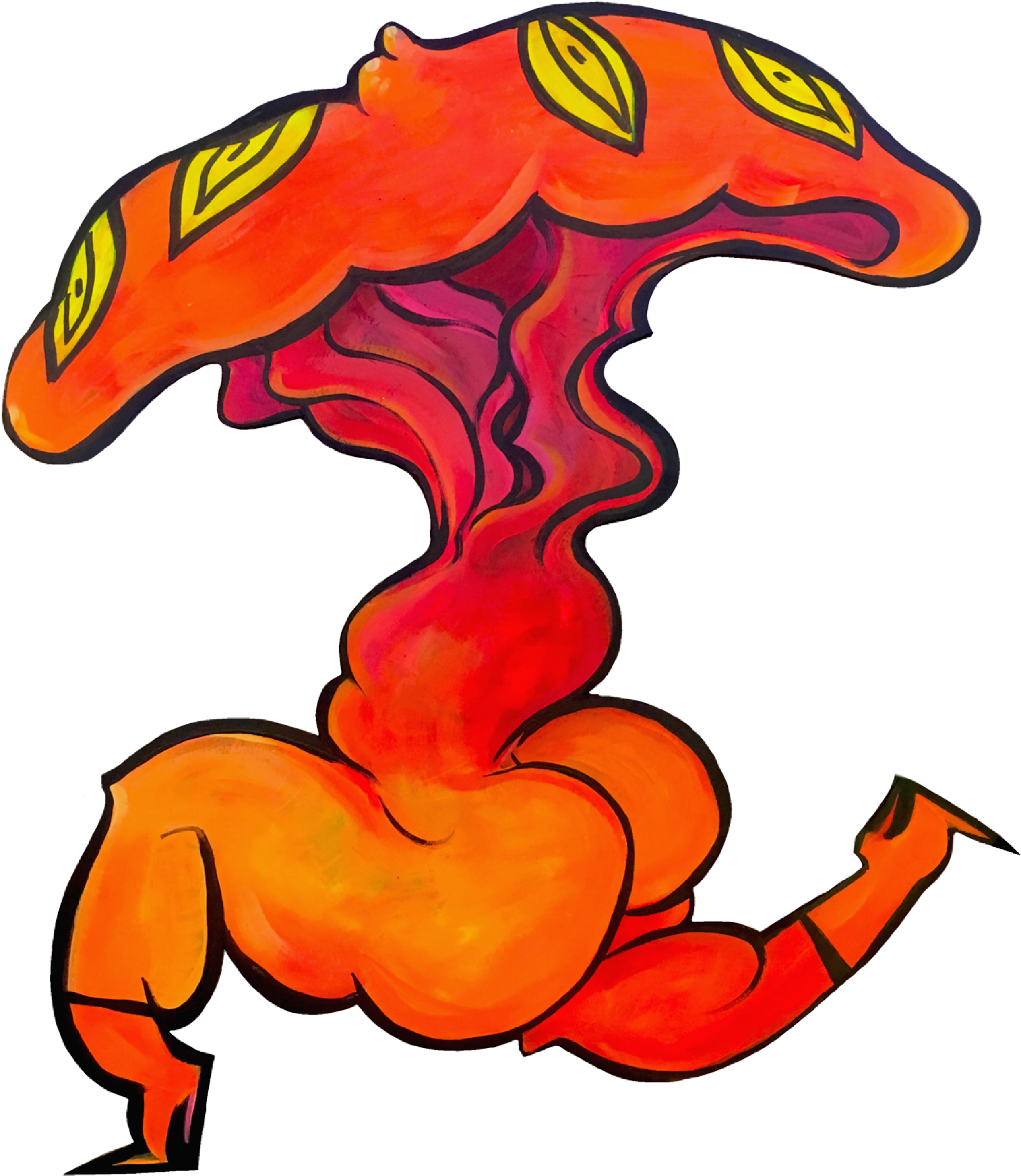 Fire Booty Clipart.