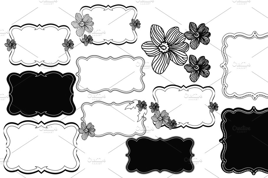 Border Clipart / borders and Frames.