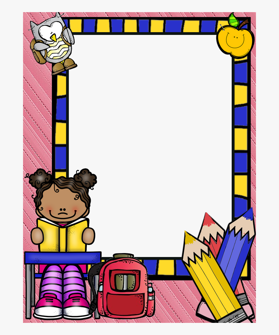 Png Frame School Borders For Paper, Borders And Frames.