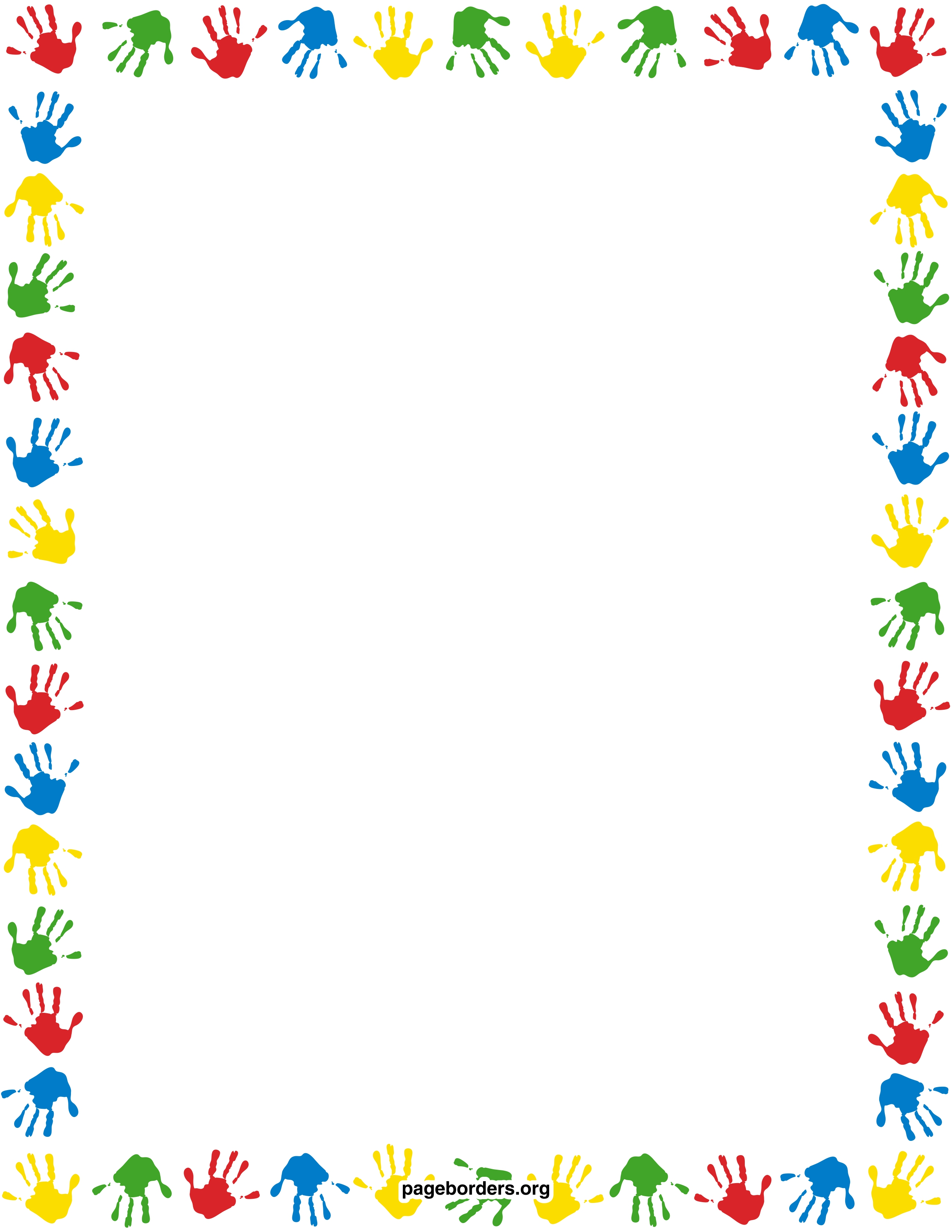 Printable children border. Free GIF, JPG, PDF, and PNG downloads.