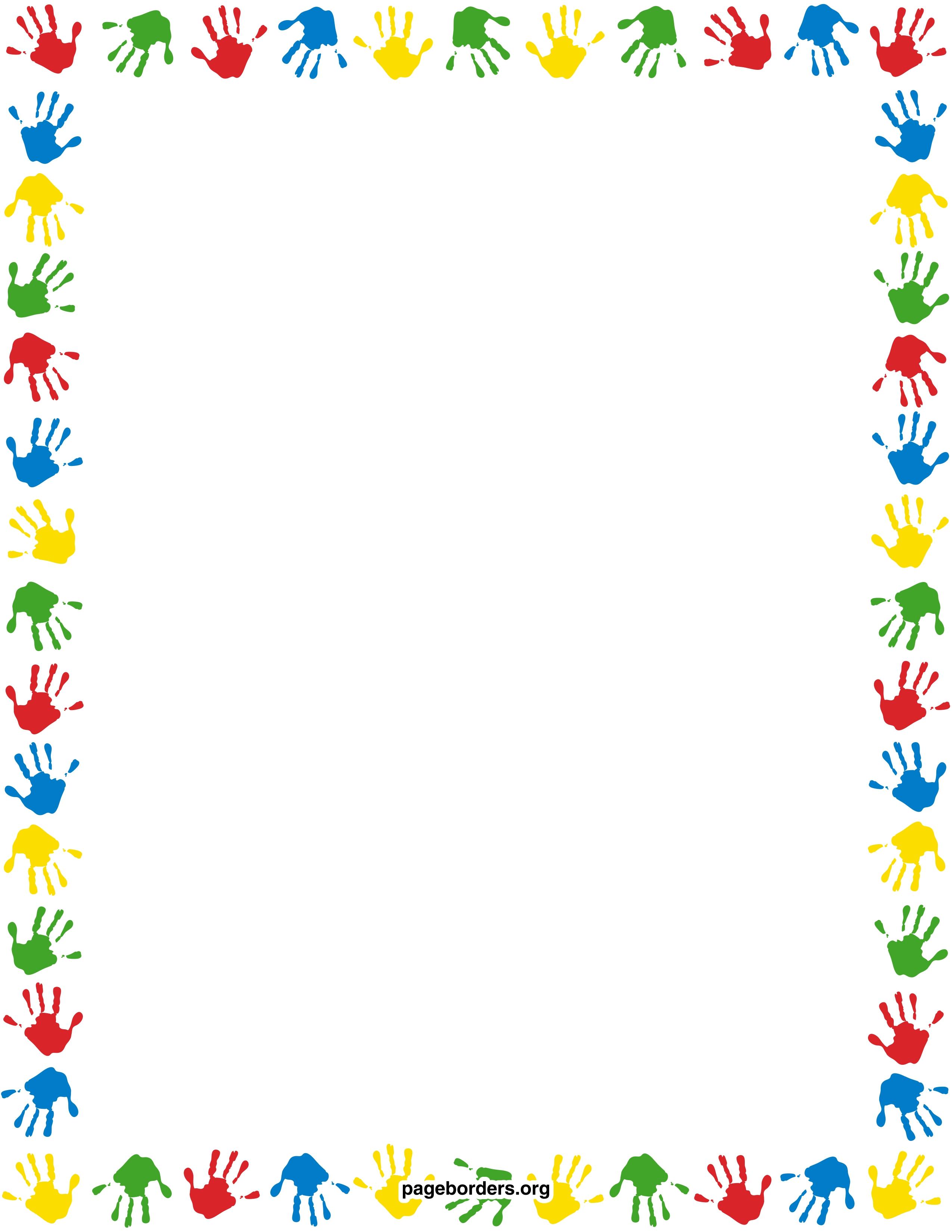 Printable children border. Free GIF, JPG, PDF, and PNG downloads.