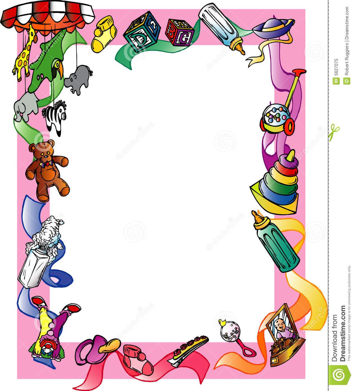 Children Border Clip Art.