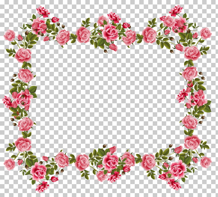 clipart flower frame for photoshop #8