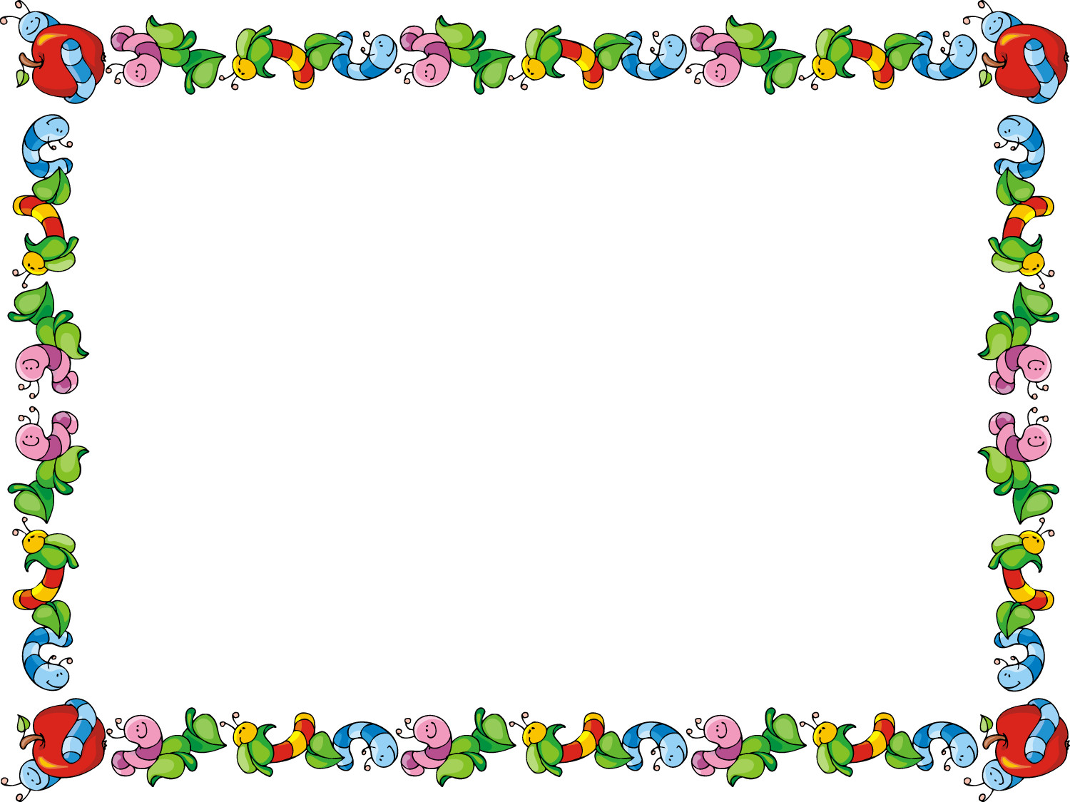 18359 Borders free clipart.