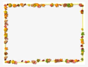 Thanksgiving Border PNG Images.