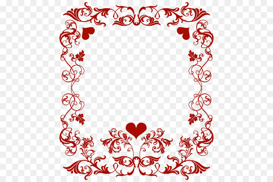 Valentines Day Border clipart.