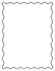 Free Clipart Borders For Word.