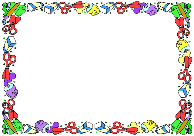 Education Theme Borders on Clipart library.