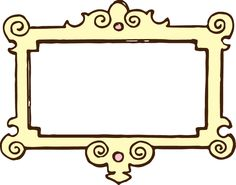 Calligraphic Borders for PPT Transparent.