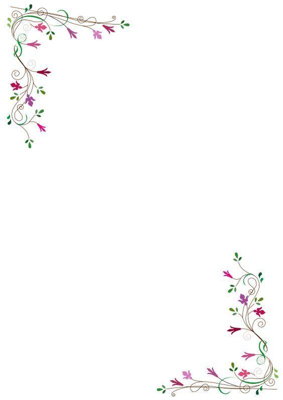 frame fleurs.
