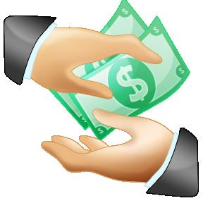 Borrow Money Clipart.