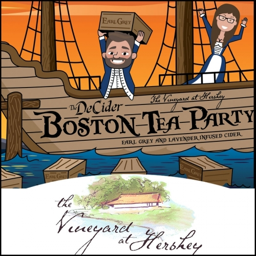 The Brewery at Hershey The DeCider: Boston Tea Party.
