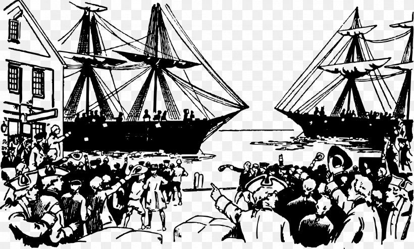Boston Tea Party American Revolution Clip Art, PNG.