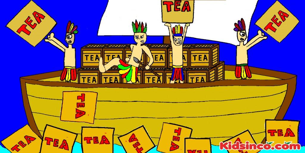 Boston Tea Party Ship Clipart.