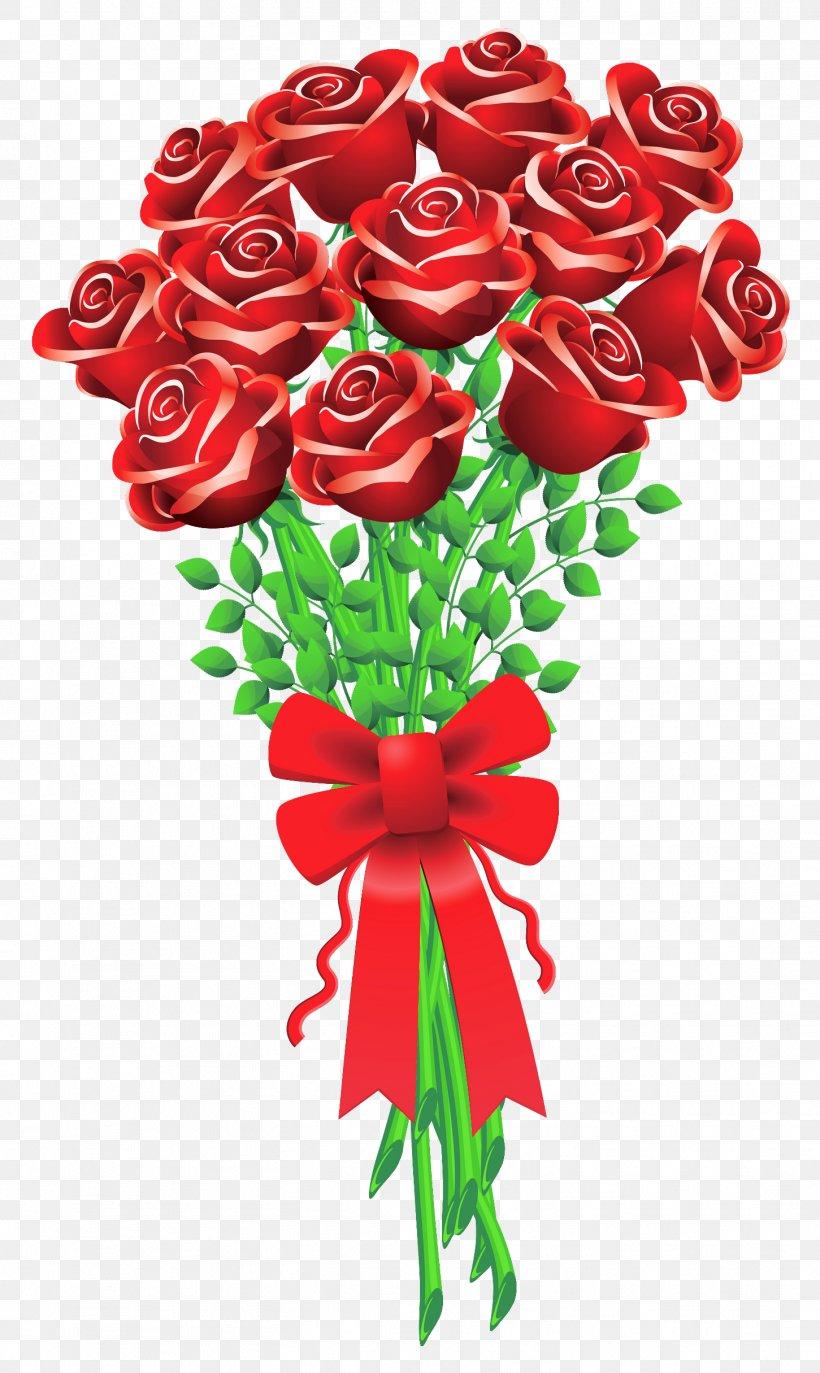 Clip Art Valentine\'s Day Flower Bouquet Rose, PNG.