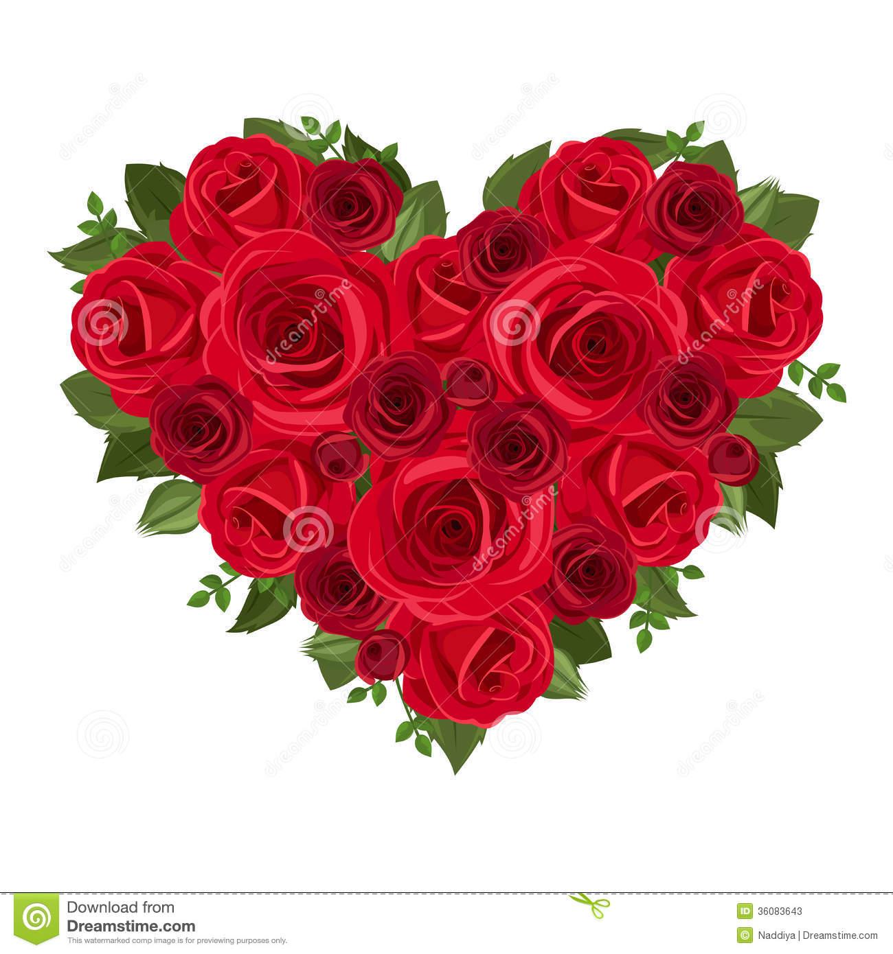 Rose Bouquet Clip Art.