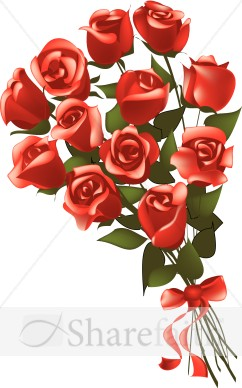 Gift Bouquet of Red Long Stem Roses.