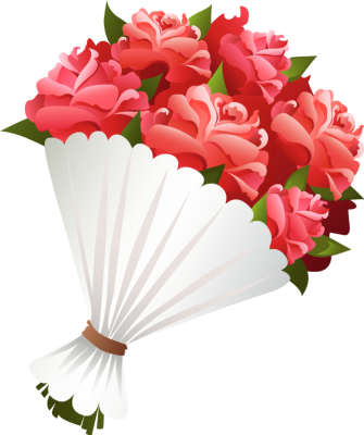 189 Bouquet Of Flowers free clipart.