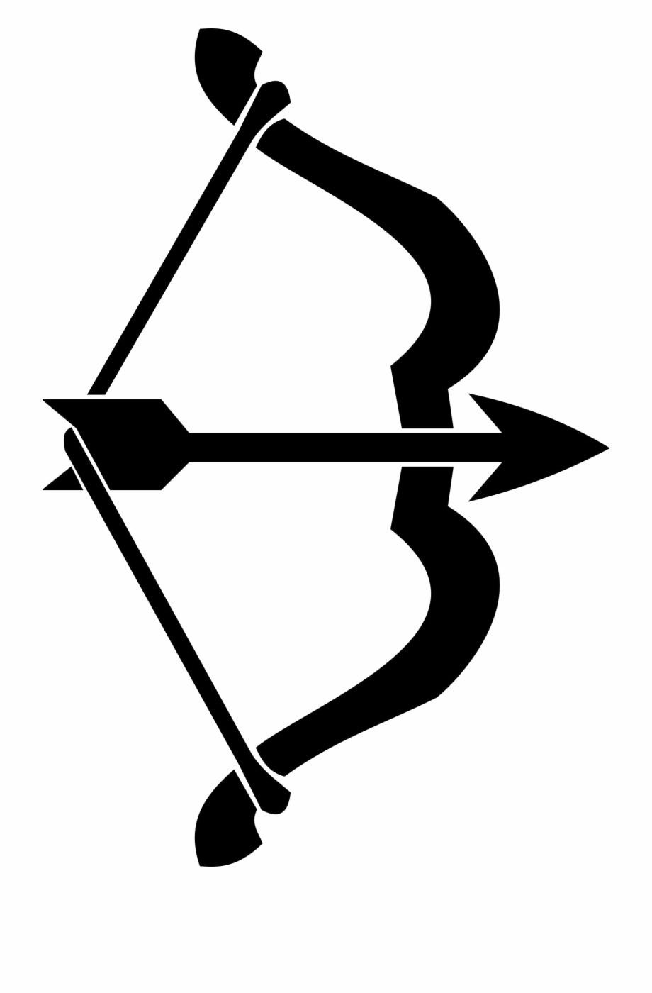 Arrow Bow Transparent Background.