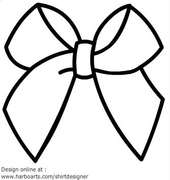 Free Bow Outline, Download Free Clip Art, Free Clip Art on.