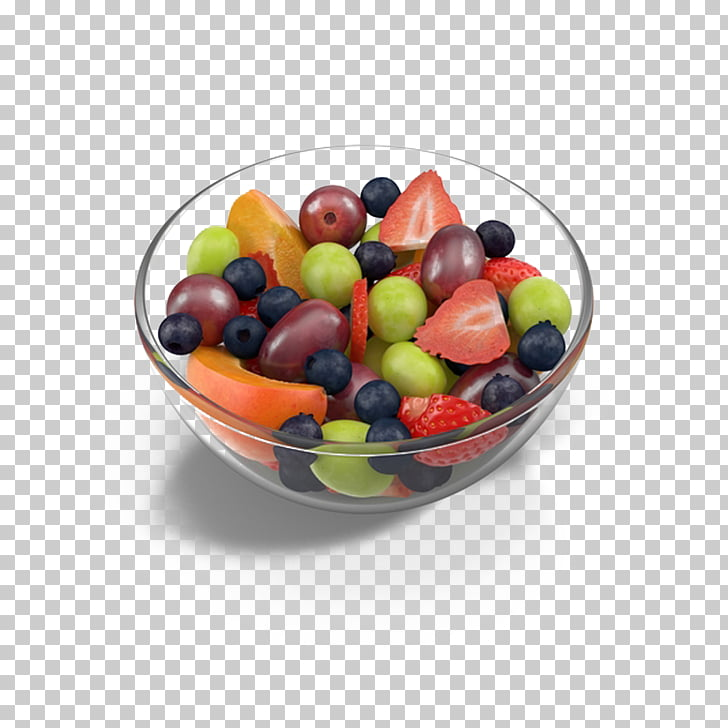 Fruit salad Bowl, Fruit salad bowl, bowl of fruit salad PNG.