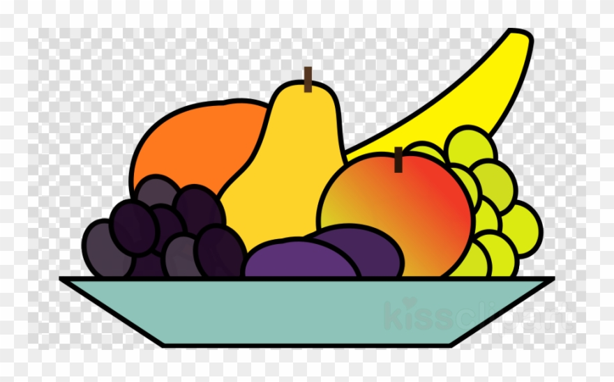 Fruit Bowl Clip Art.