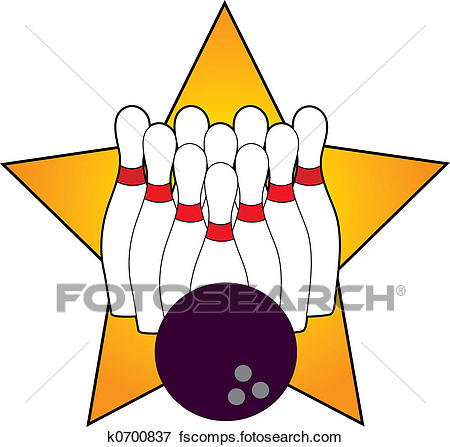 Bowling Alley Clipart.
