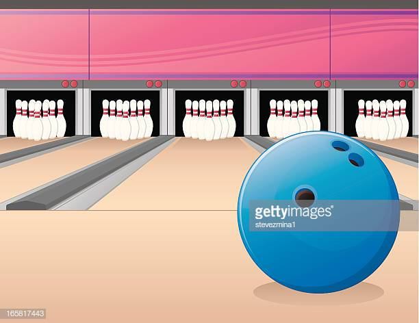 60 Top Bowling Alley Stock Illustrations, Clip art, Cartoons and.