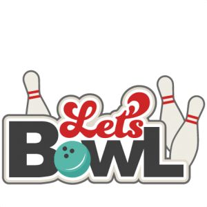 Bowling party clip art.