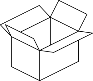 Box Clipart Black And White Free Clipart Images.
