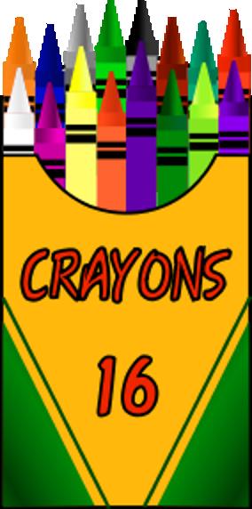 Crayon Box Clip Art   Clipart Free Download.