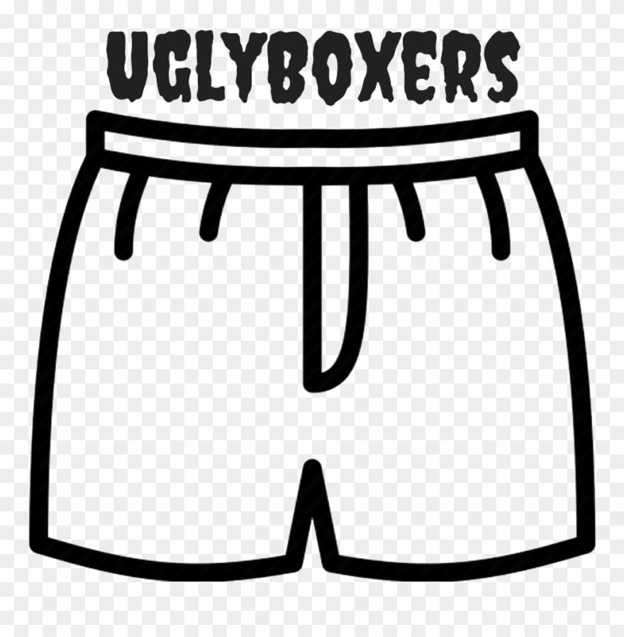 Men's Boxers Clip Art.
