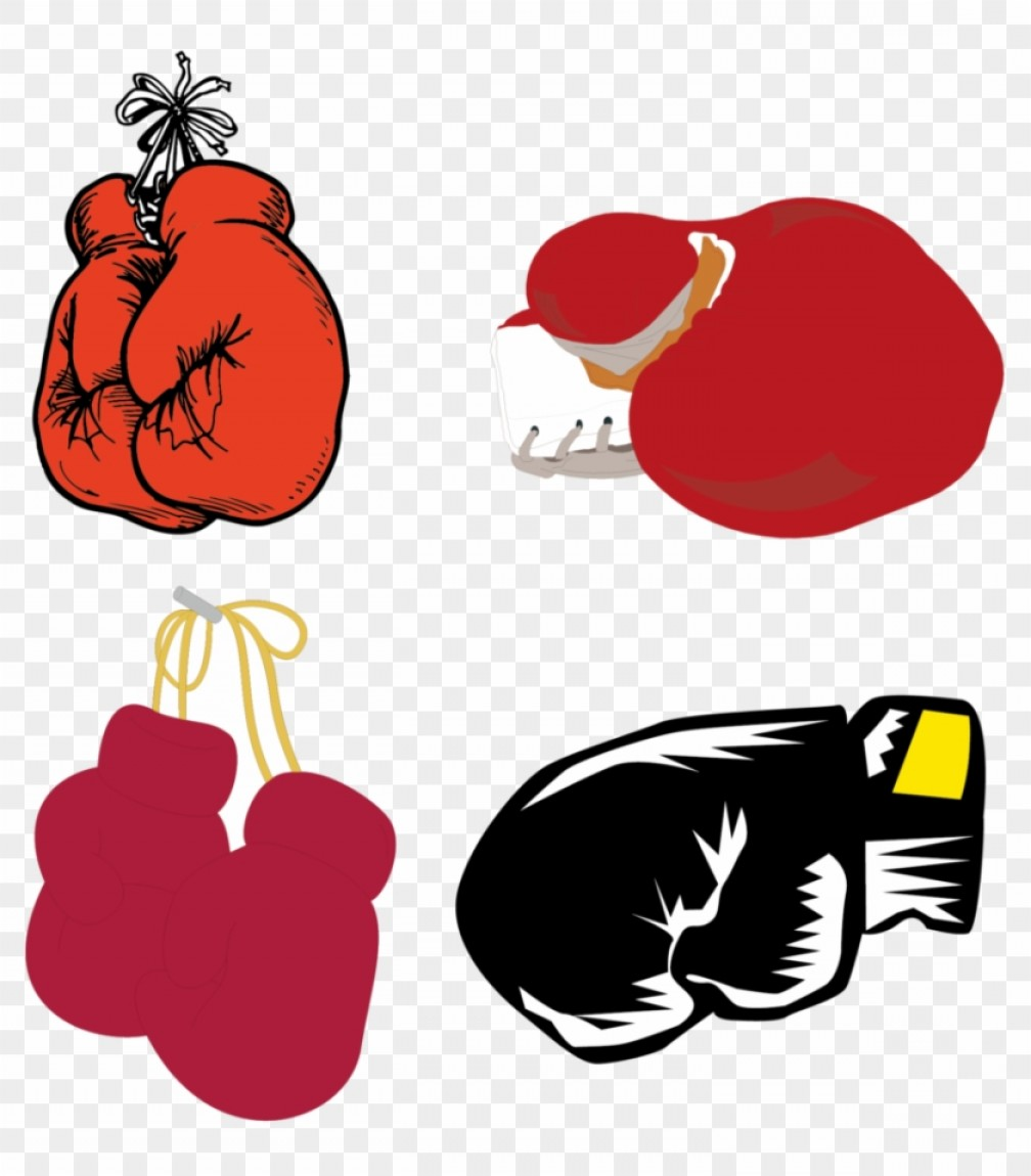 Iiotrxxkisspng Boxing Glove Clip Art Gloves Vector Material.