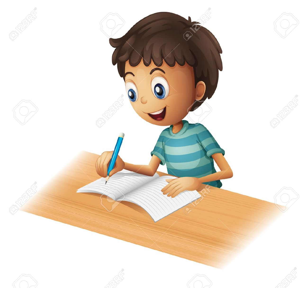17,283 Write Cartoon Stock Vector Illustration And Royalty Free.