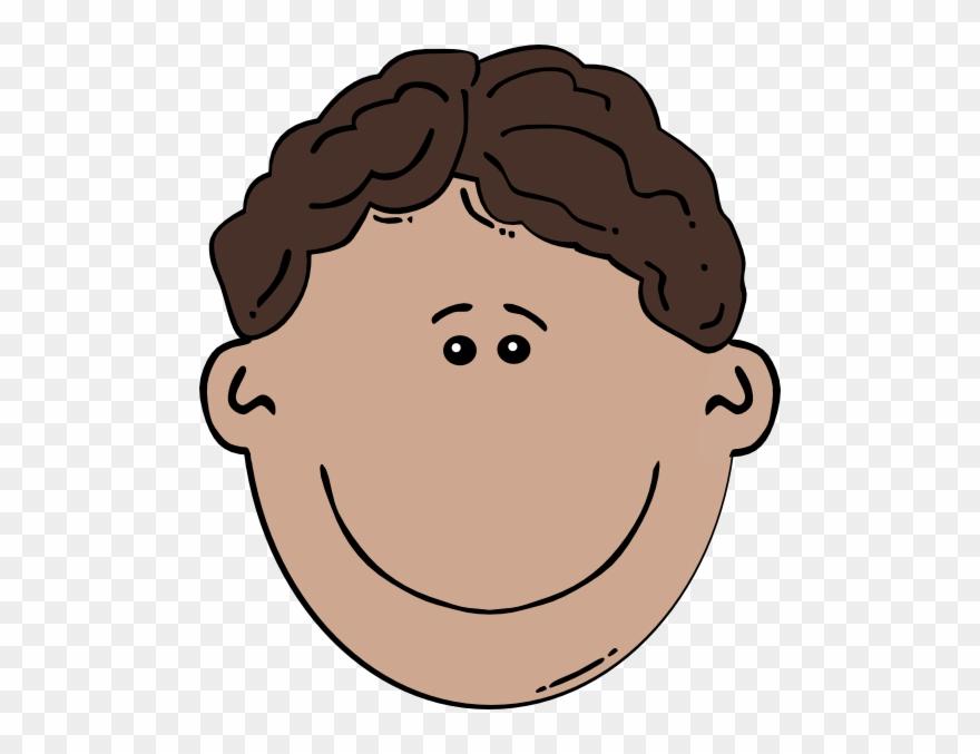 Boy Face Clipart.