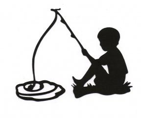 Boy Fishing Clipart Free.