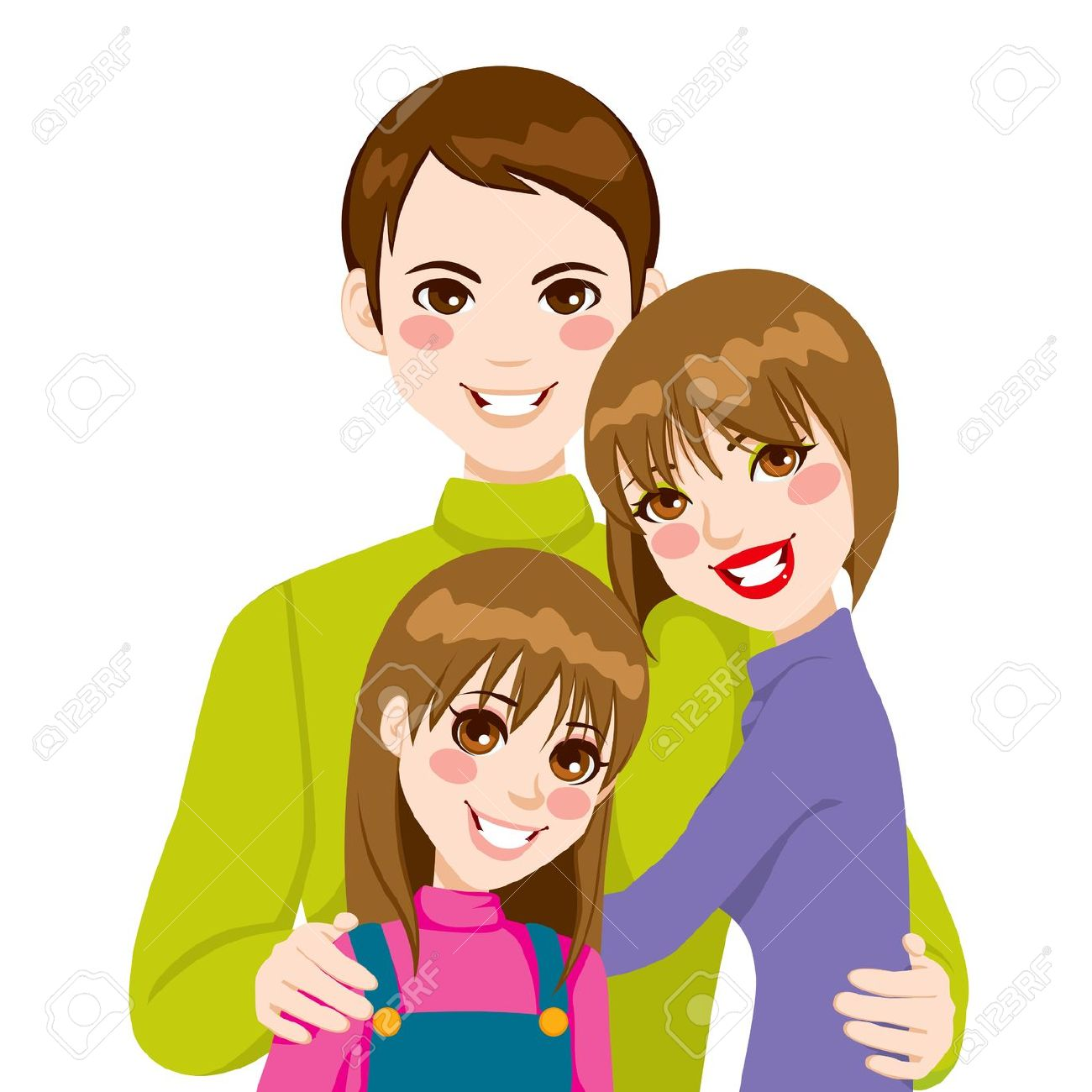 clipart boy hugging parent - Clipground Hugging Family Clipart