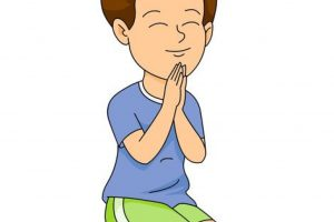 Boy praying clipart 7 » Clipart Station.