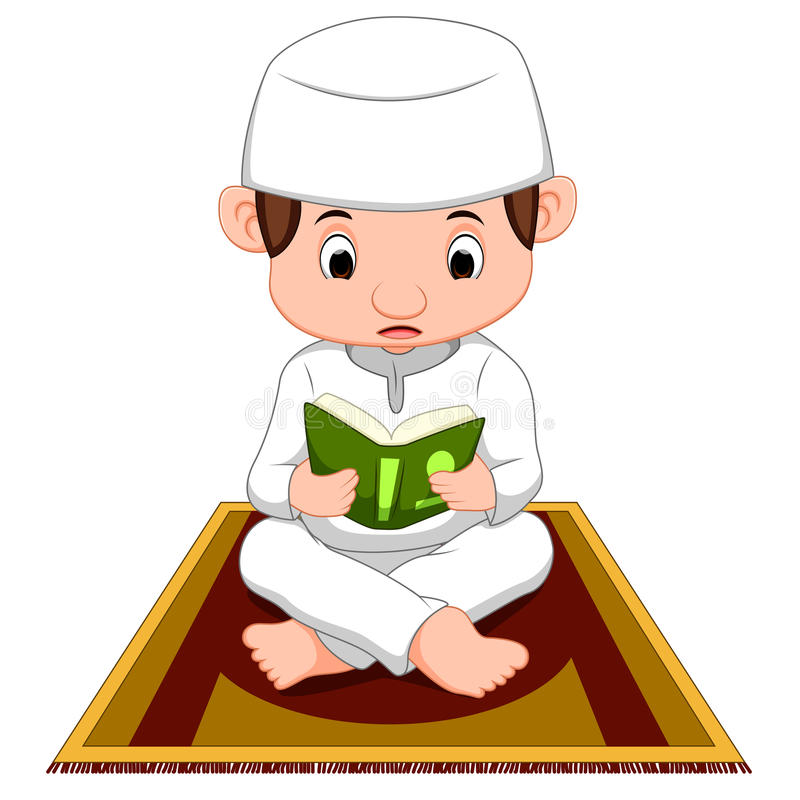 Boy Praying Stock Illustrations.