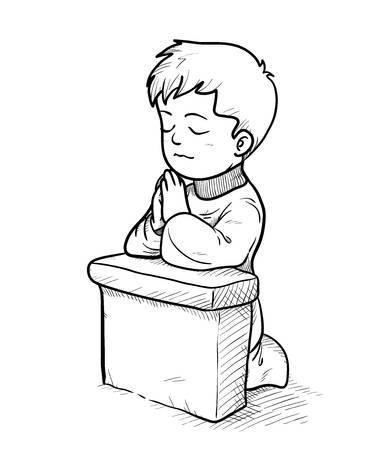 Clipart boy praying 3 » Clipart Portal.