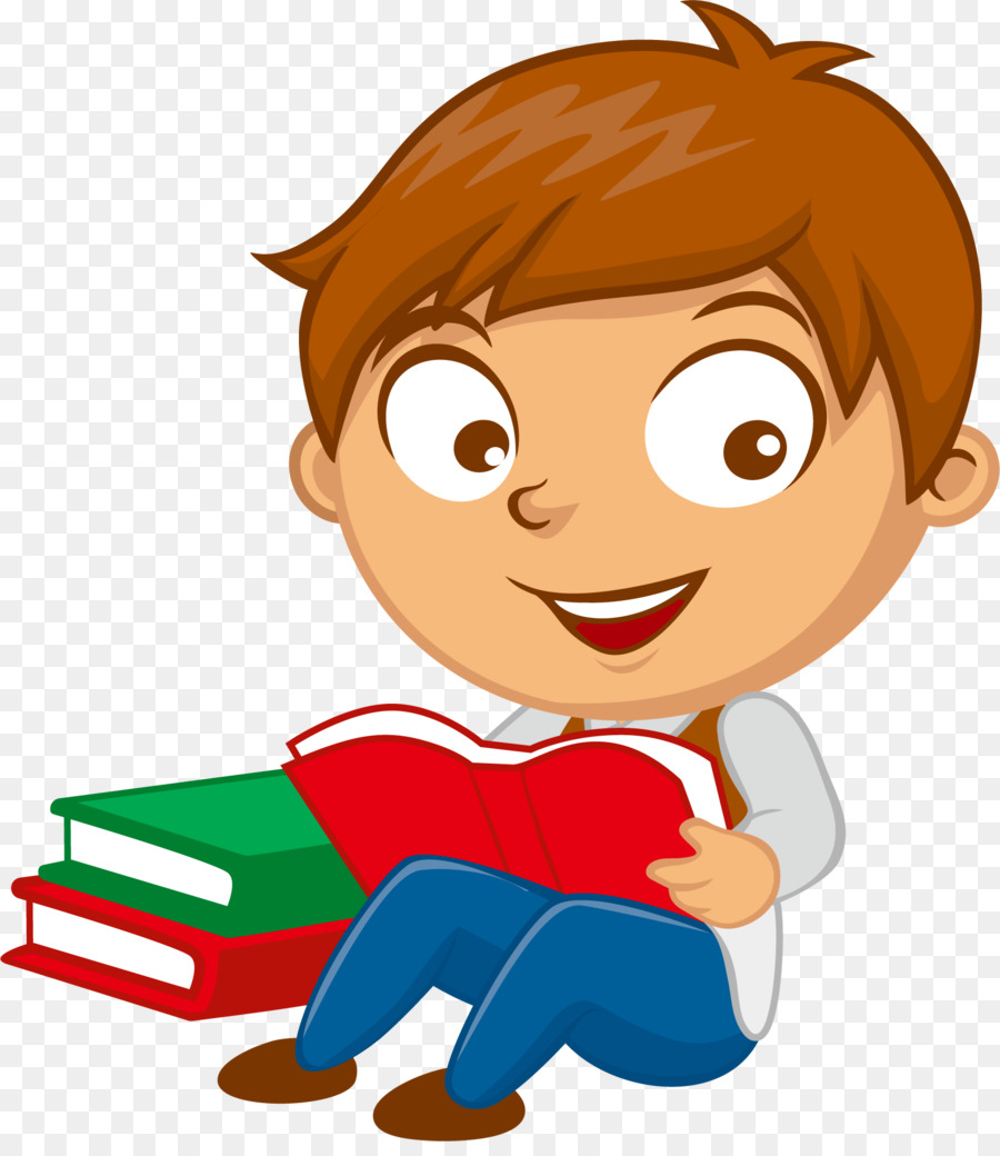 Boy Reading Png & Free Boy Reading.png Transparent Images #11796.