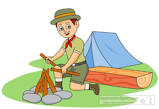 252 Boy Scout free clipart.