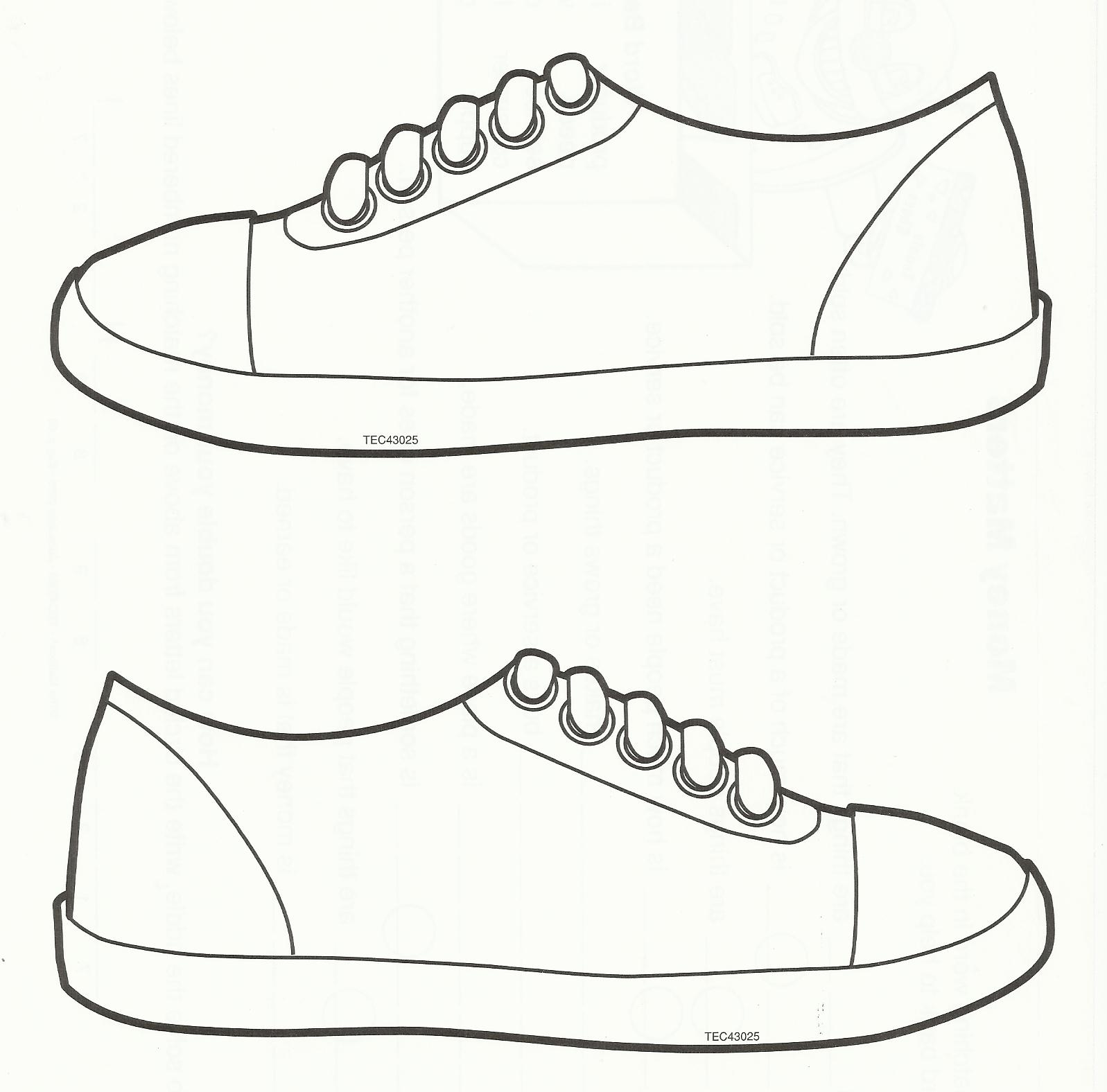 clipart boy template shoes Clipground