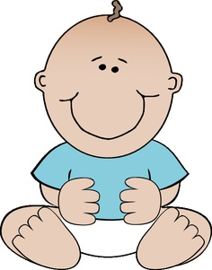 Free Baby Shower Clipart Boy.