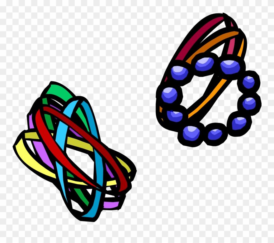 Mixed Bracelets Clothing Icon Id.