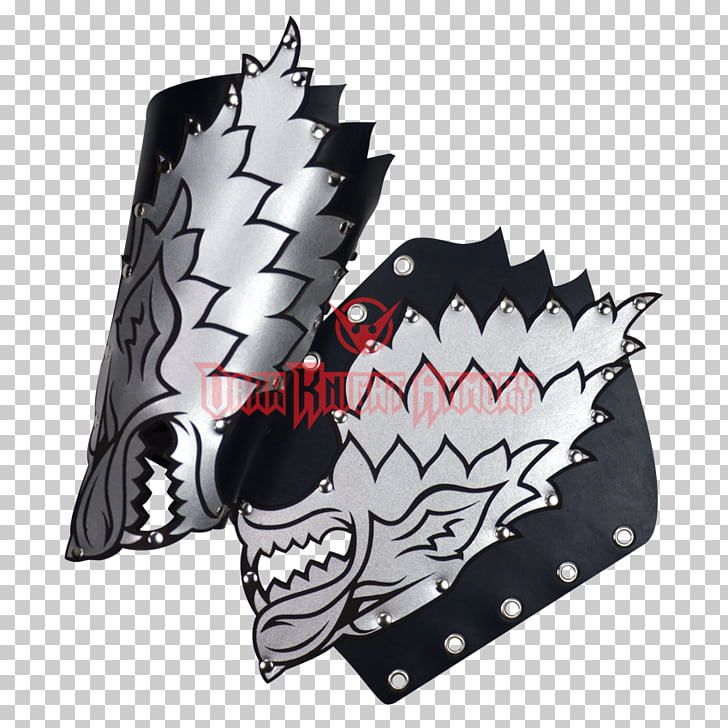 Bracer Leather Cuff Wrist plastic, house stark PNG clipart.