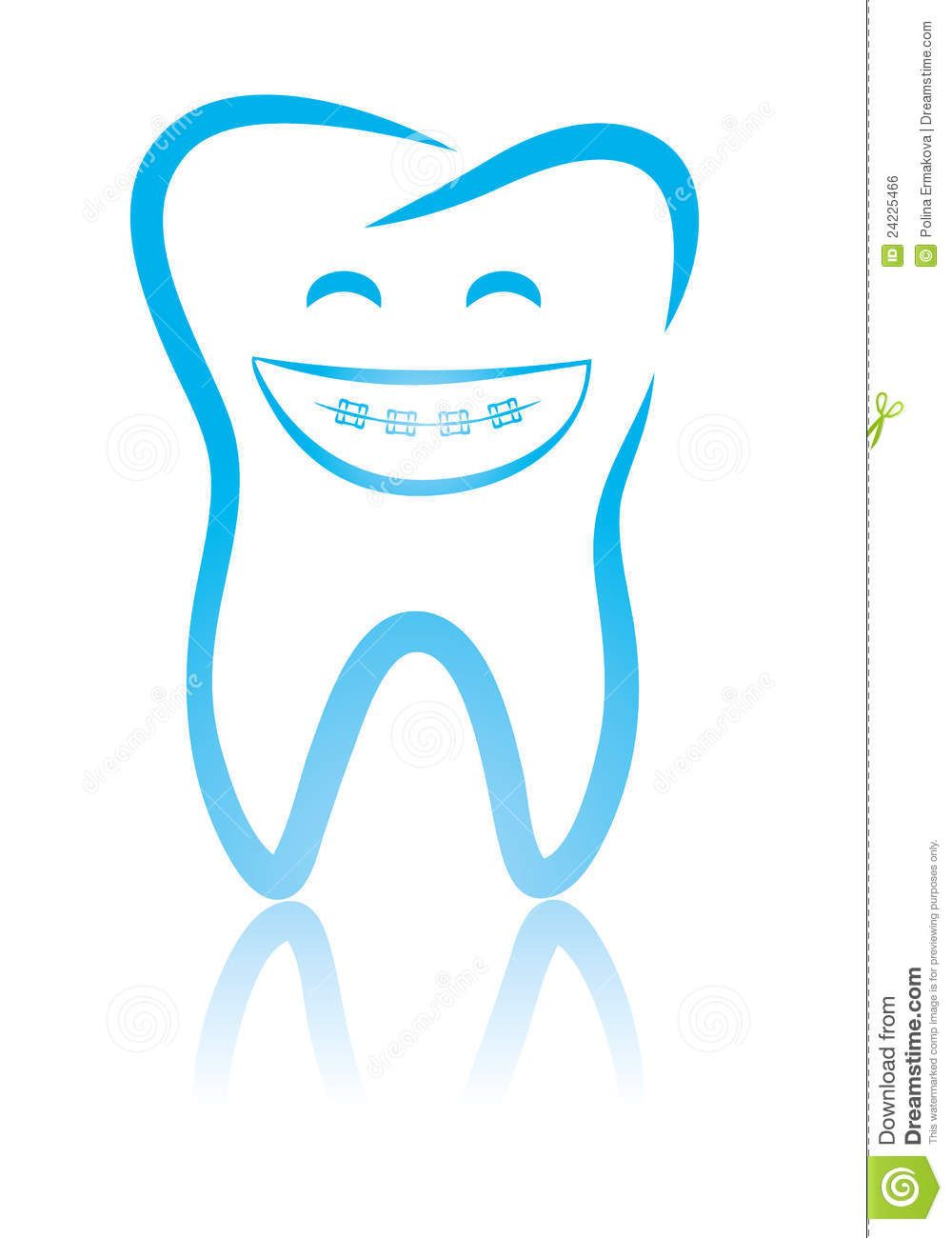 Smile Teeth Braces Clip Art Smile teeth braces clip art.