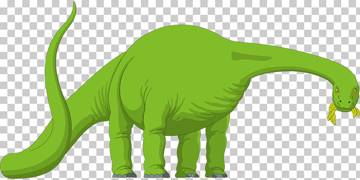 Brachiosaurus Dinosaur size , Abstract art green dinosaur.