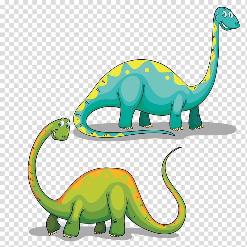 Brachiosaurus illustrations, Tyrannosaurus Dinosaur.